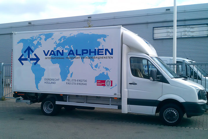 Van Alphen Transport - Koeriersdiensten - Volkswagen Crafter